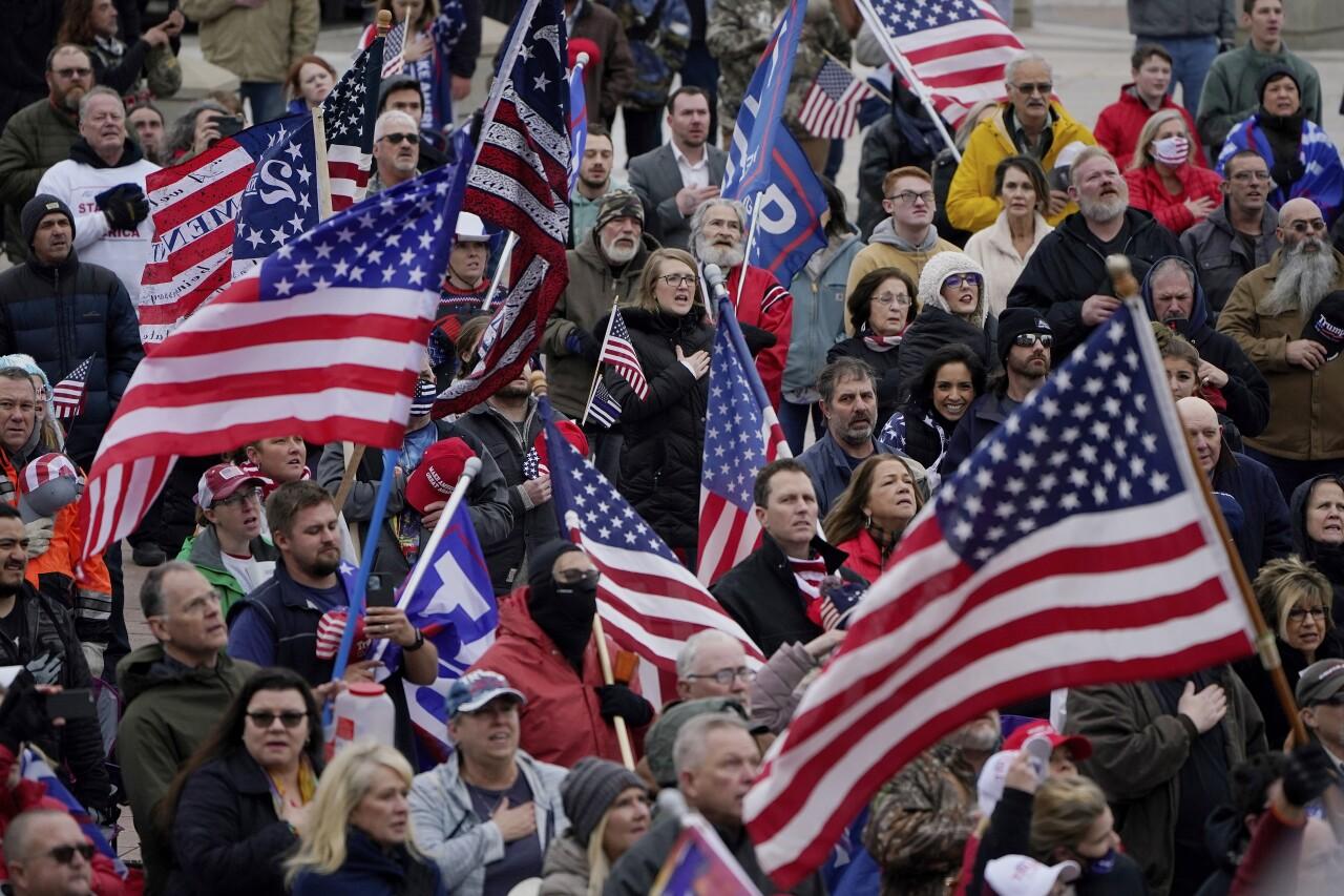 Electoral College Protests Oklahoma