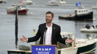 Lawyers: Trump's son Eric won't testify in NY probe before election