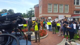Lafayette Protest 4
