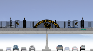 Oak Park bridge rendering