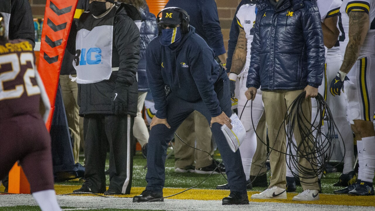 VIDEO: Jim Harbaugh addresses speculation about Michigan future