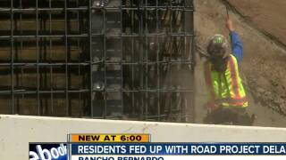 Rancho Bernardo resident fed up with road project delays