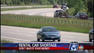 DWYM: Beware rental car shortages during busy vacation season