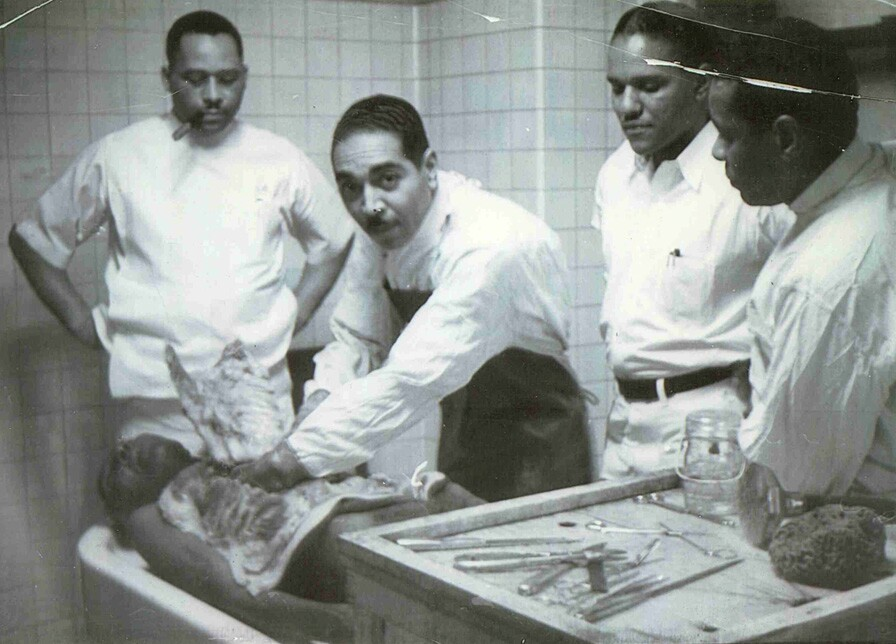 Dr. Earle Robinson, Sr. and colleagues.jpg