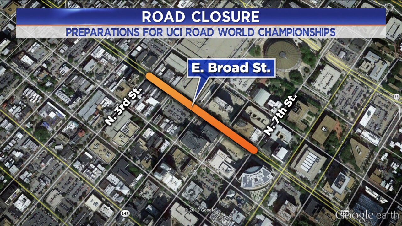 These four city blocks along Broad Street are closing, don't freak out