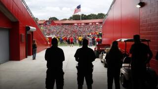 Washington State Rutgers Football Security