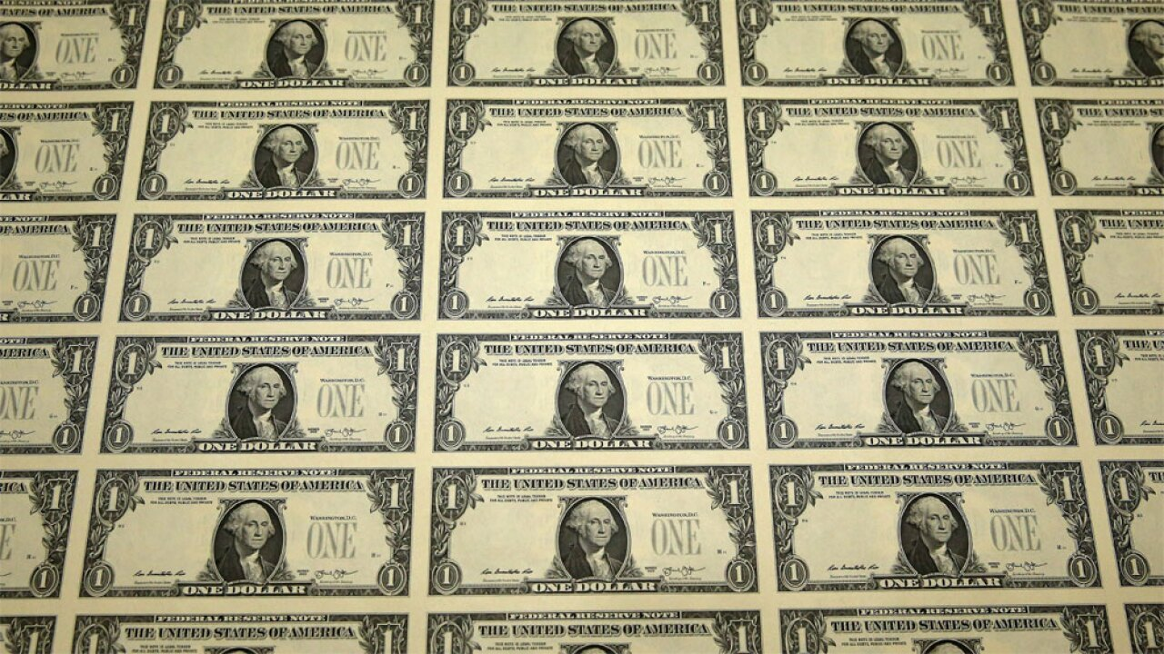 WPTV money cash dollar bills generic