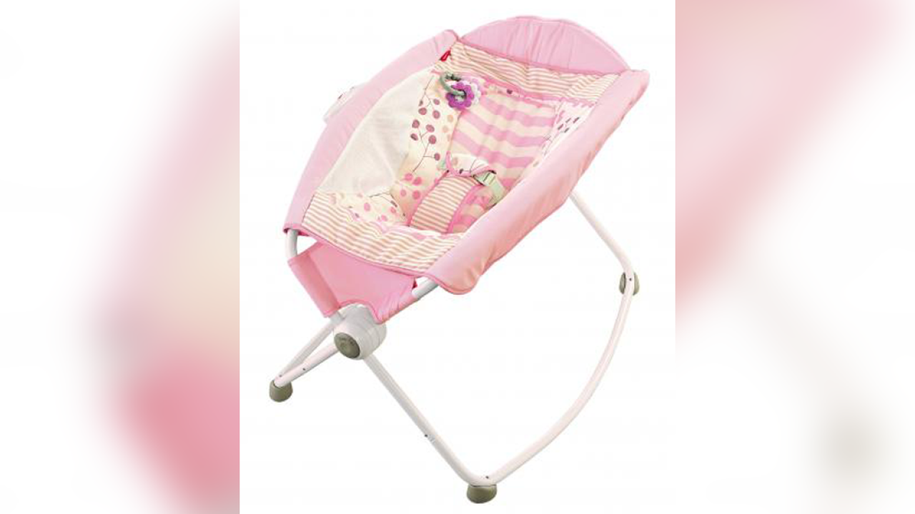 Recalled Fisher-Price Rock n' Play sleeper still being illegally sold online on Craigslist, Facebook