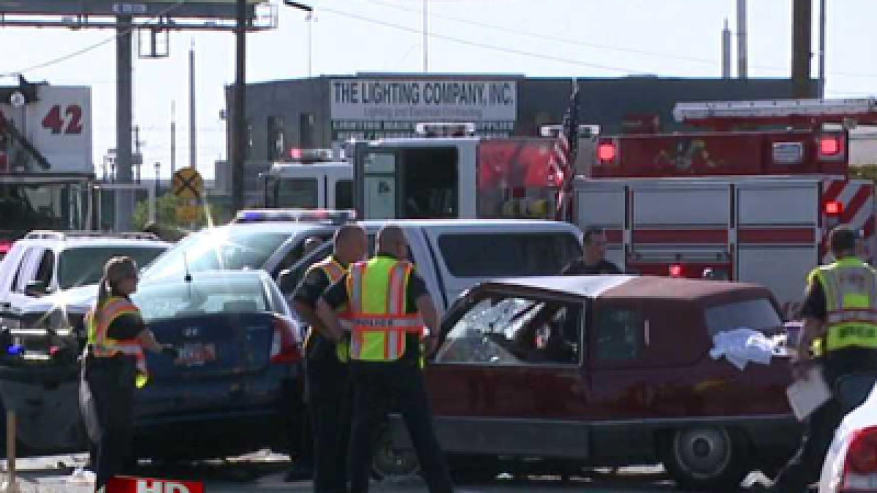 Two dead after crash Sunday in South Salt Lake