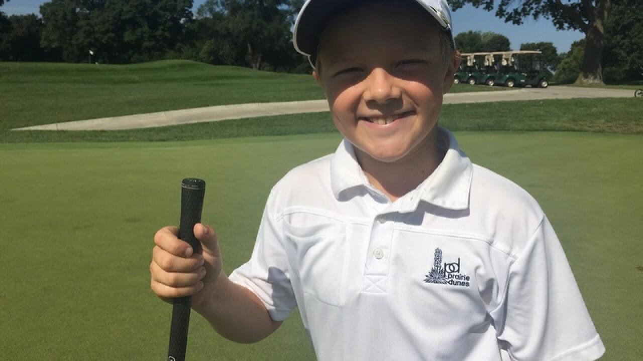 PGA invites local fourth grader to Augusta