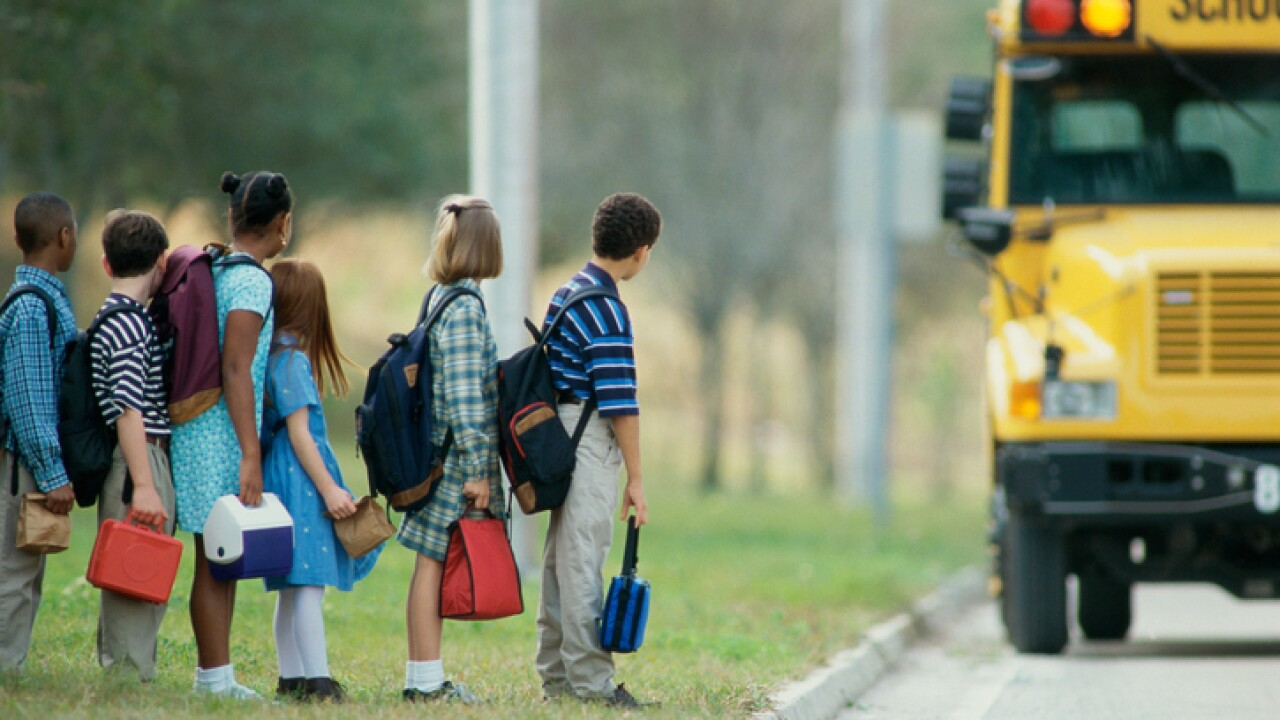 Local parents blame school bus shortage for kids' tardiness in theclassroom