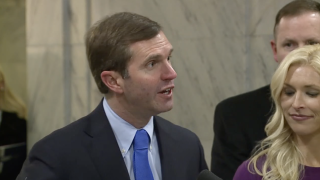 Beshear at inauguration