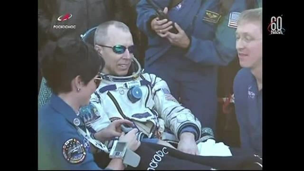 NASA crew with metro Detroit astronaut makes safe landing after 197-day mission