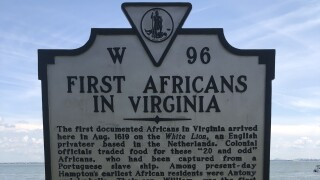 1619 Historical Marker