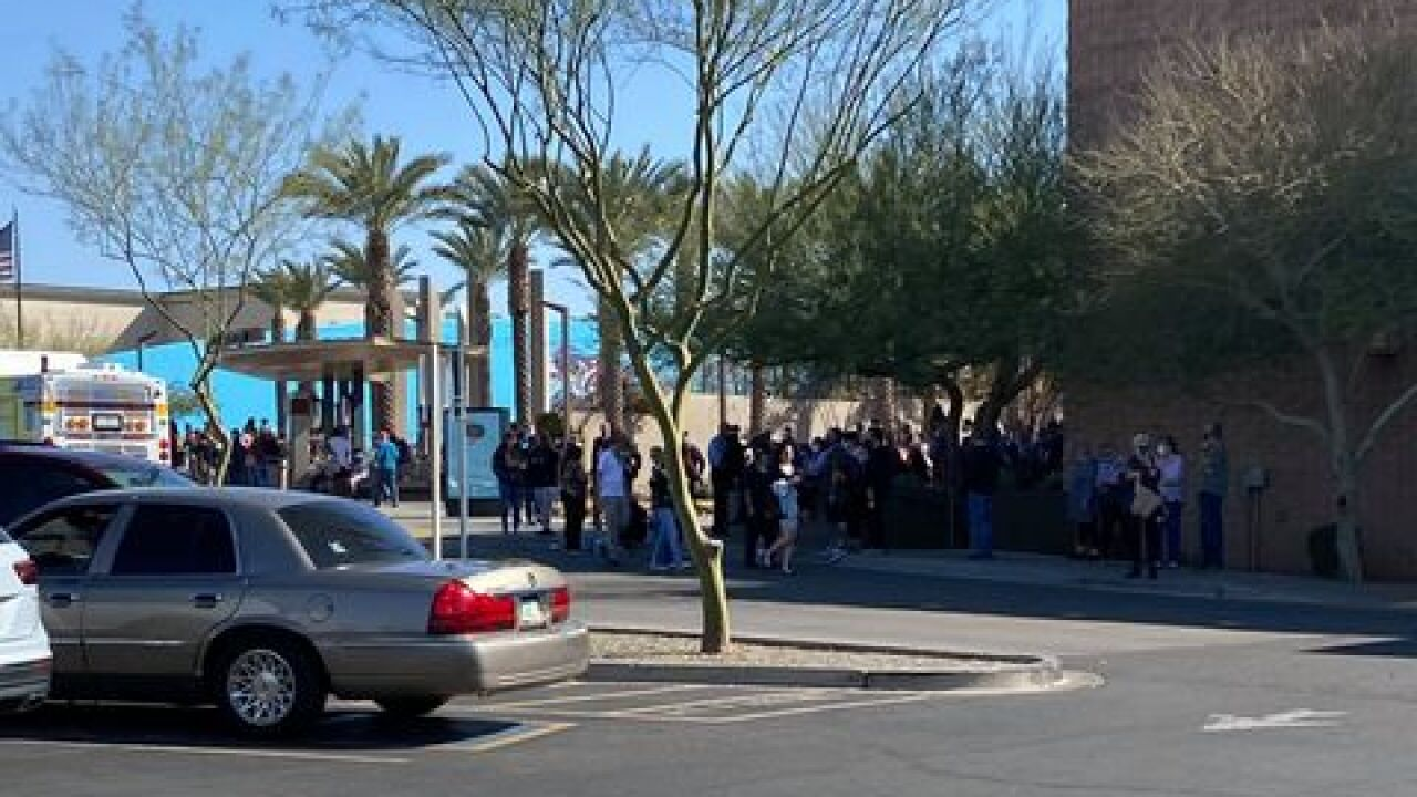 David Morgan police situation bomb threat arrowhead mall