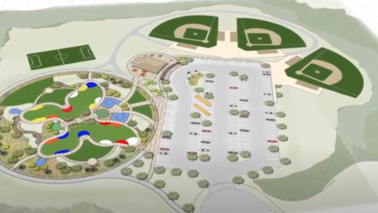 Mason Challenger League field rendering