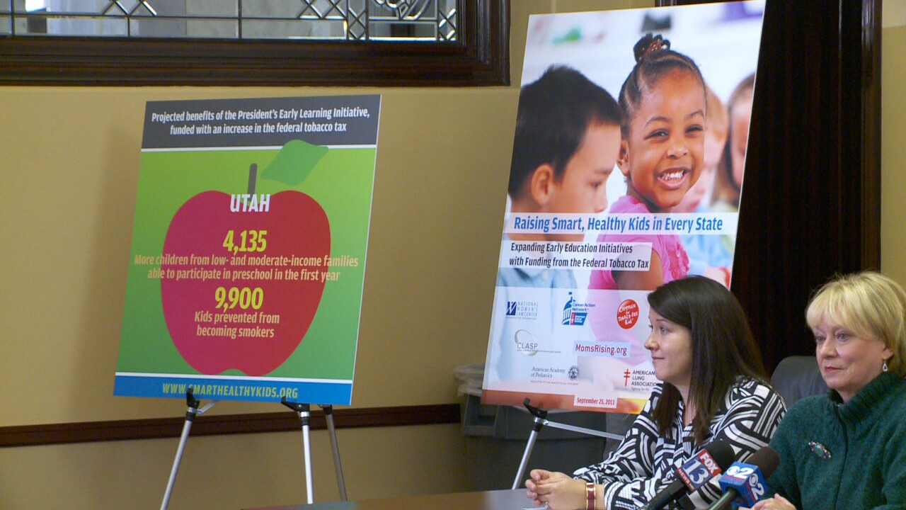 Groups advocate funding early childhood education with cigarette tax increase