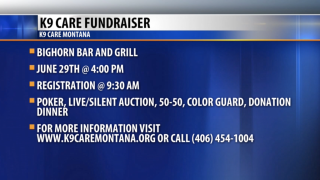Community Connection: K9 Care Montana Fundraiser