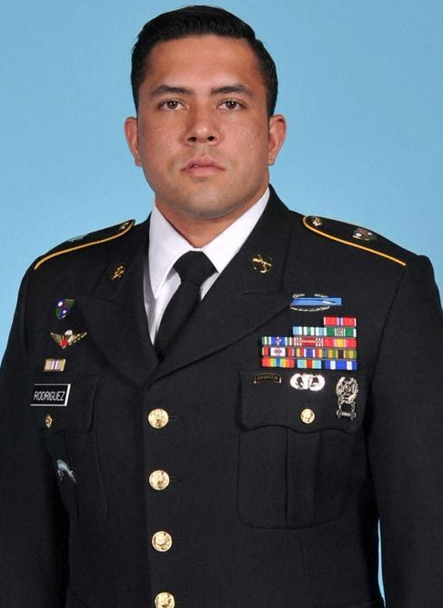 Sgt. 1st Class Antonio Rey Rodriguez of Las Cruces, New Mexico