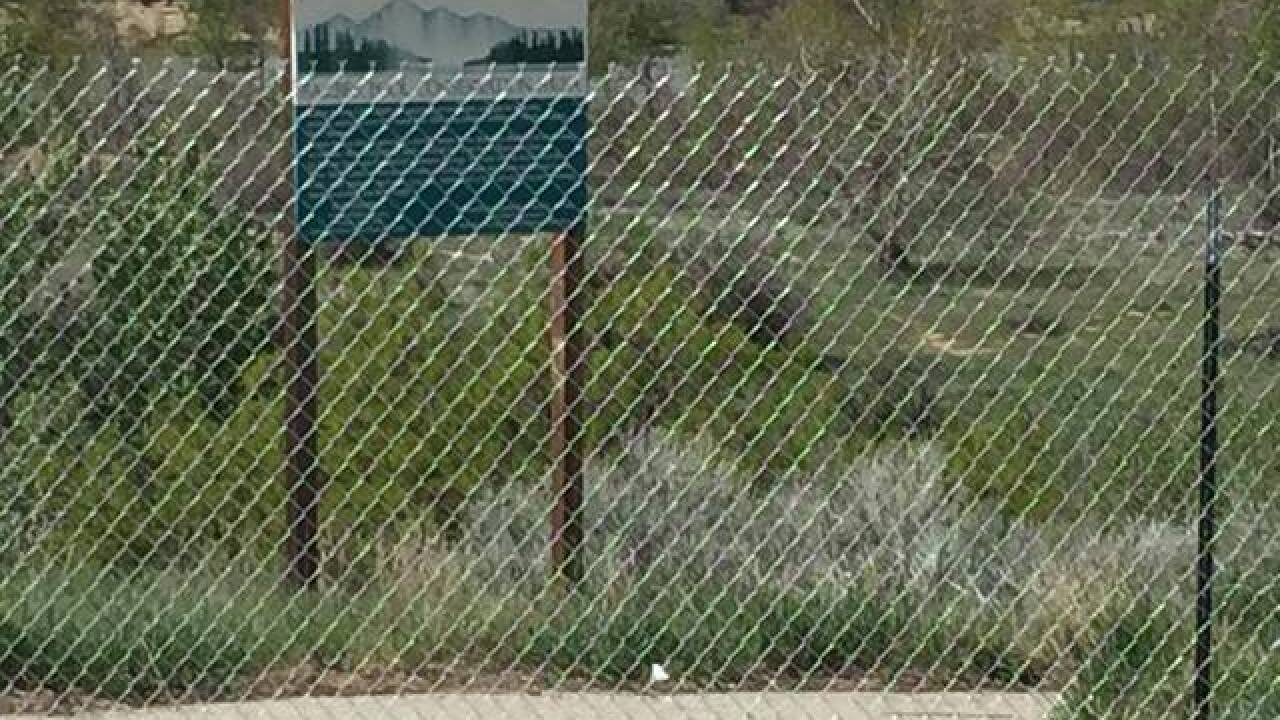 Fence installed at Boise Greenbelt access point