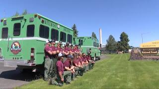 Flathead Hotshots travel to Canada to fight wildfires