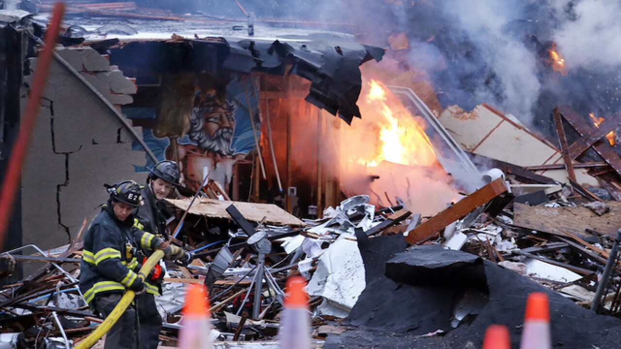 Seattle explosion levels buildings