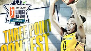 Indiana Fever guard Kelsey Mitchell will participate in the WNBA's Three-Point Contest