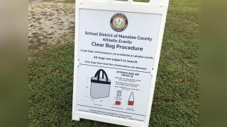 Manatee County clear bag procedure.