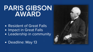 Nominations now being accepted for the annual Paris Gibson Award