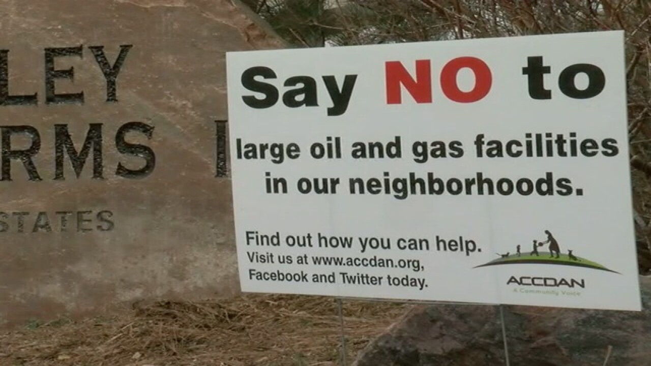 Thornton is fighting against oil, gas drilling