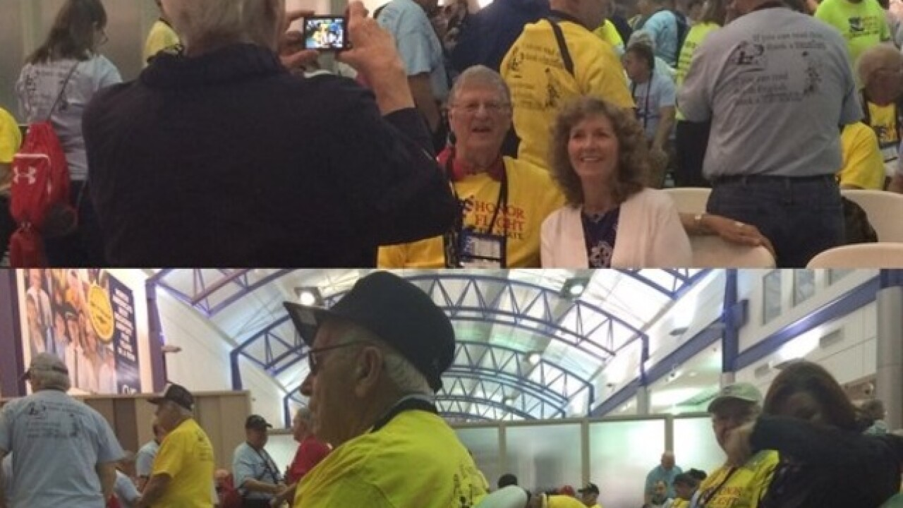 Honor flight whisks veterans away to Washington
