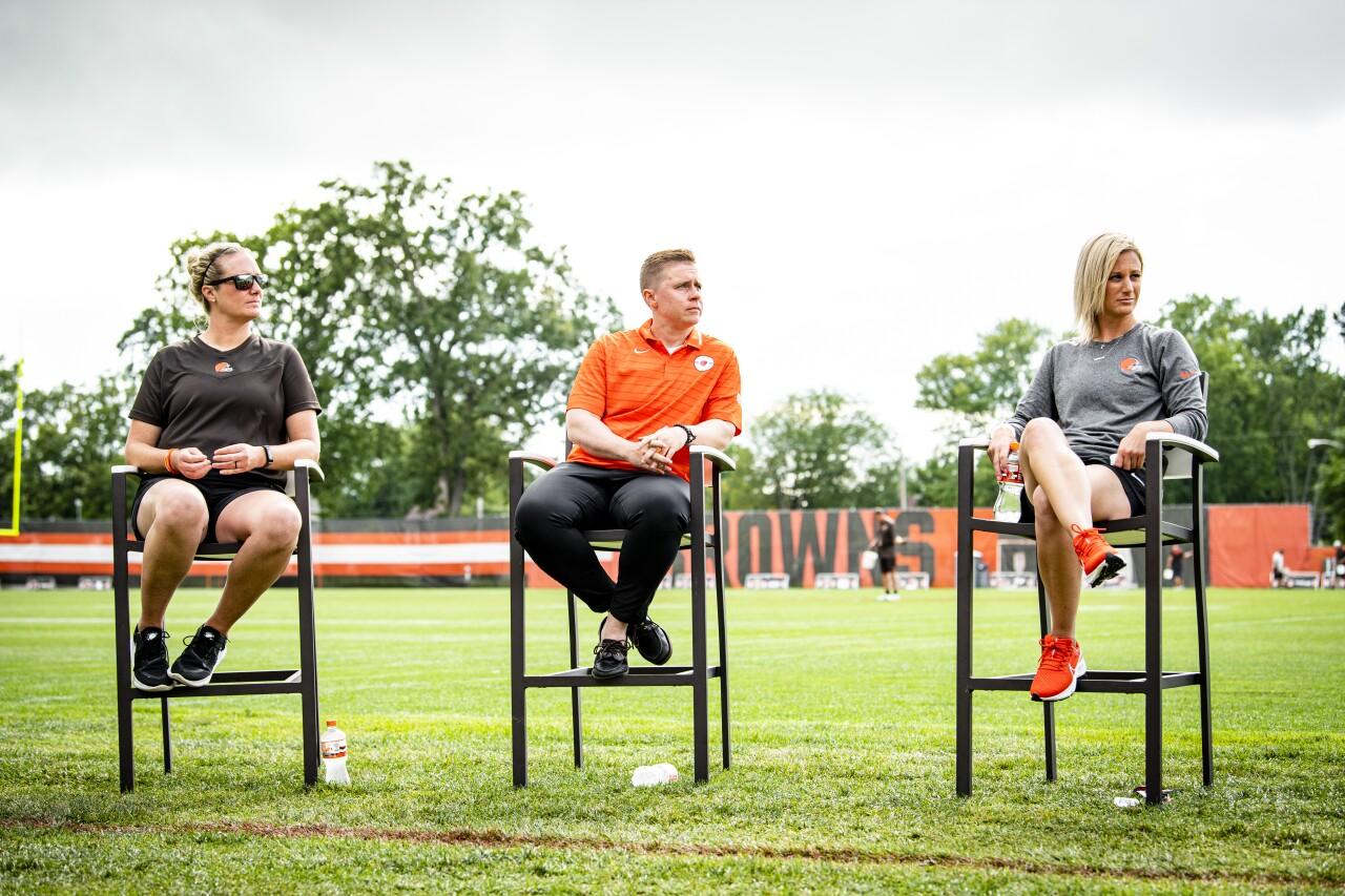 Browns Women in Sports Chalk Talk