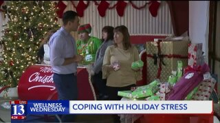 Wellness Wednesday: Tips for coping with holiday stress