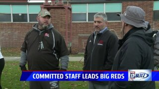 Passionate and committed coaching staff helps Big Reds to football success