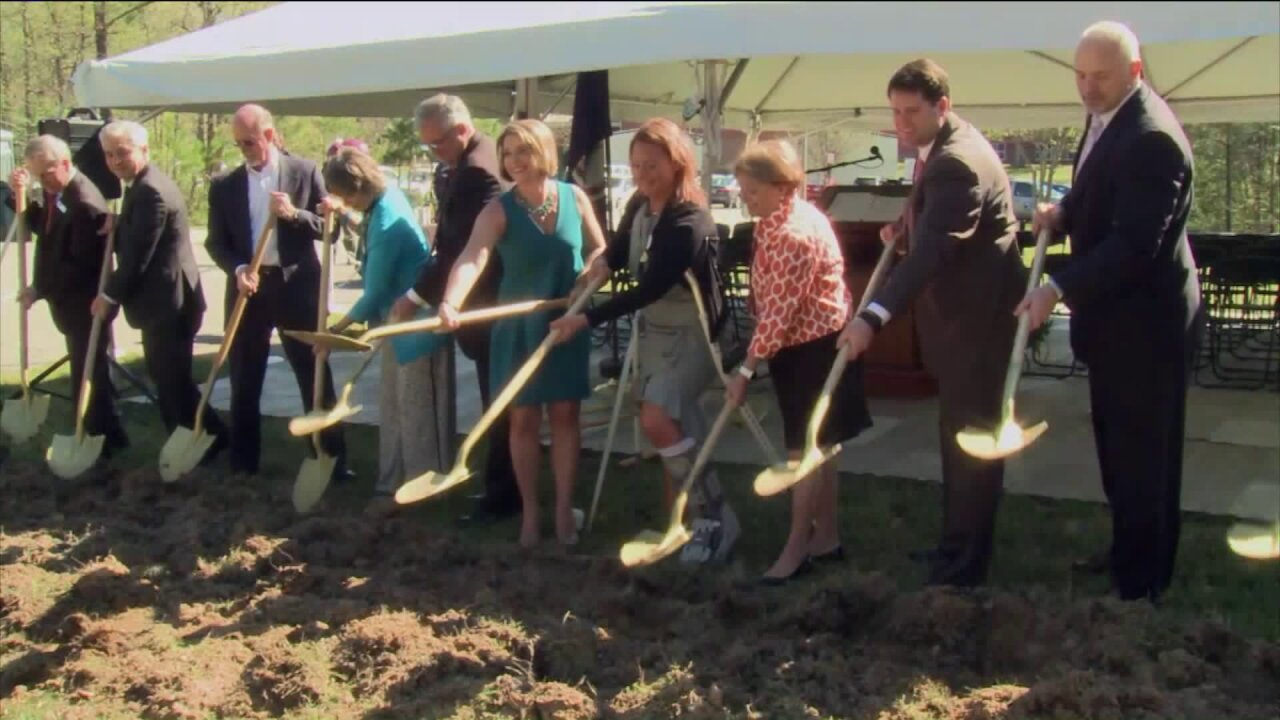 Chesterfield Schools break ground on new Harrowgate Elementary