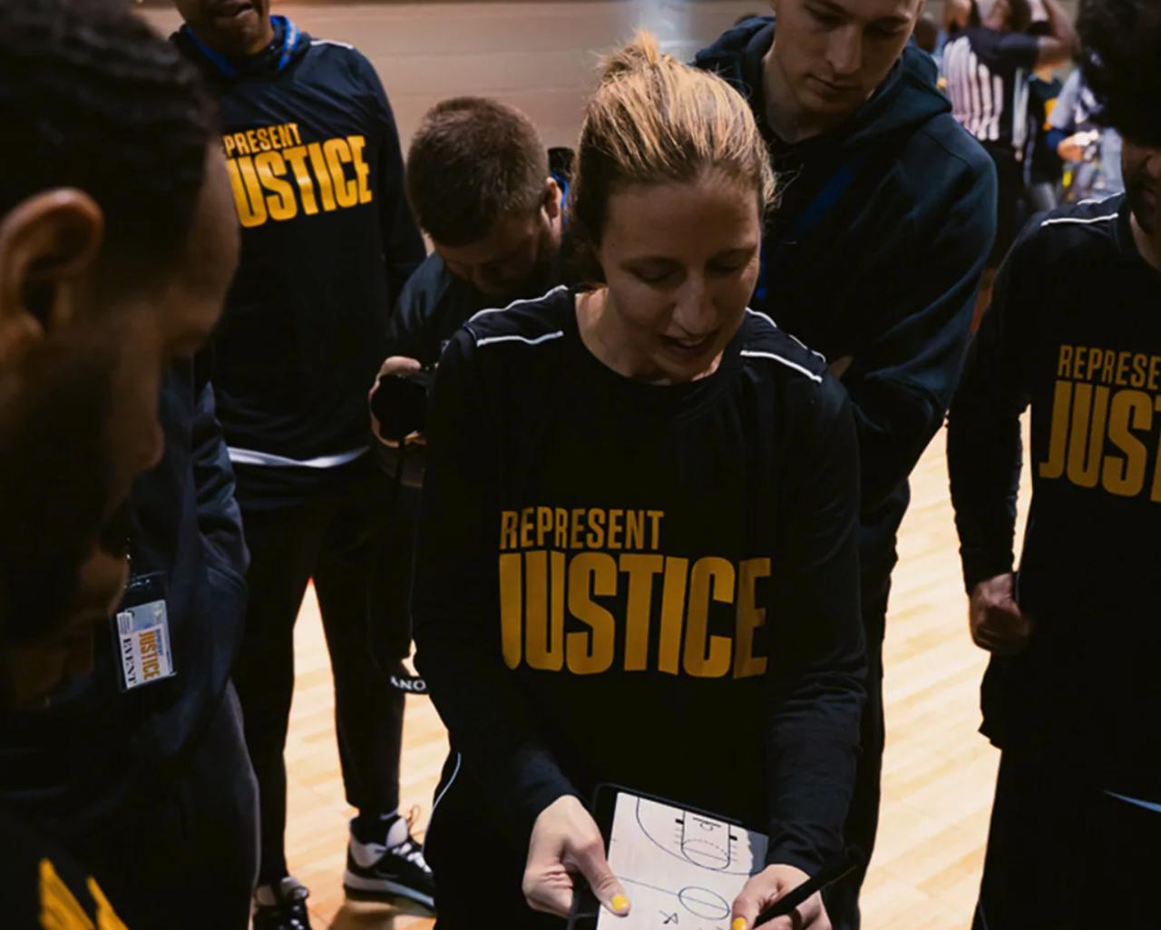 Cavs prison basketball game Grafton