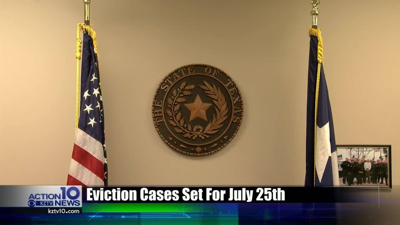 Backlog of eviction cases facing Nueces County judges
