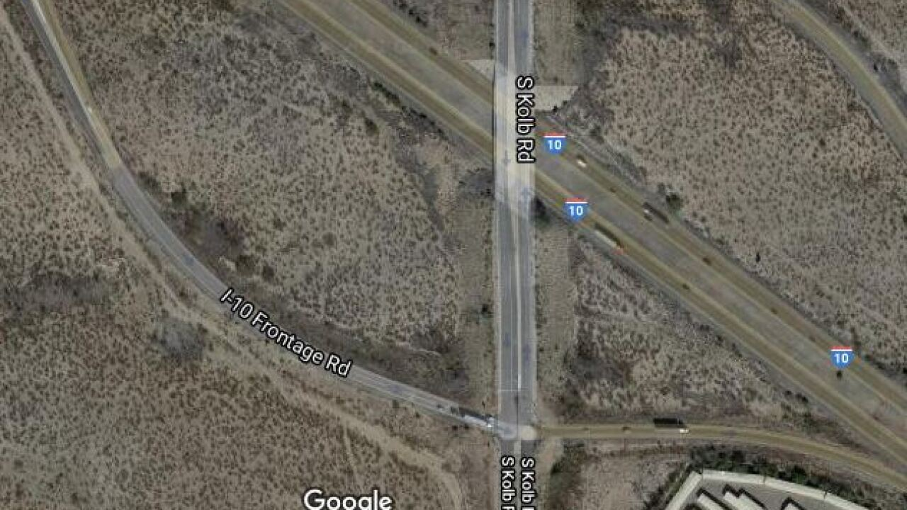 Troopers are looking for a motorist who shot a driver on I-10 Friday.