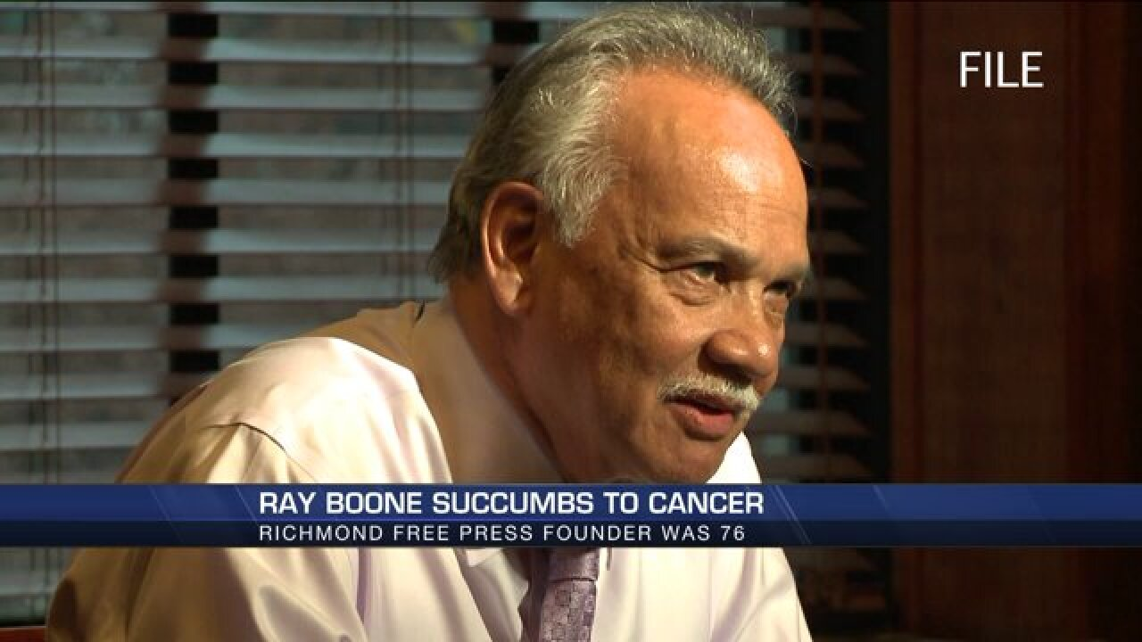 HOLMBERG: RIP Ray Boone, free press crusader, believer and gentleman