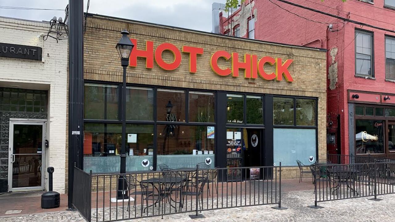 Hot Chick hatches in Chesterfield shopping center