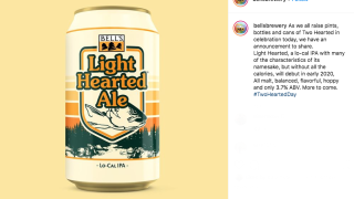 Low-calorie version of Bell's Two-Hearted Ale to be released in 2020