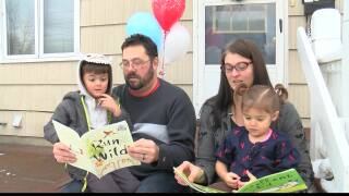 United Way of Missoula delivers 150,000th Imagination Library book