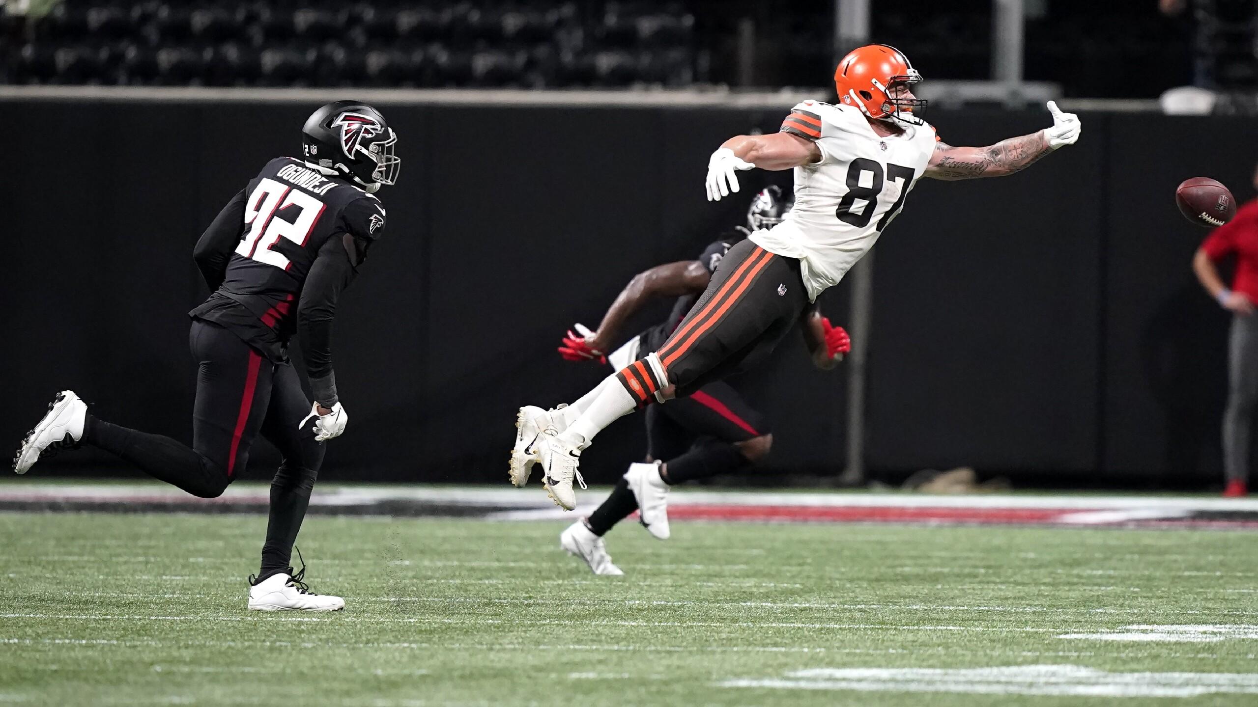 Browns Falcons Football