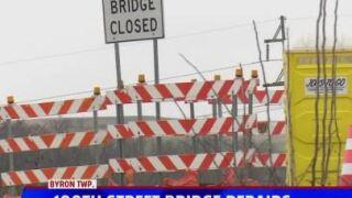 100th St bridge closed.JPG