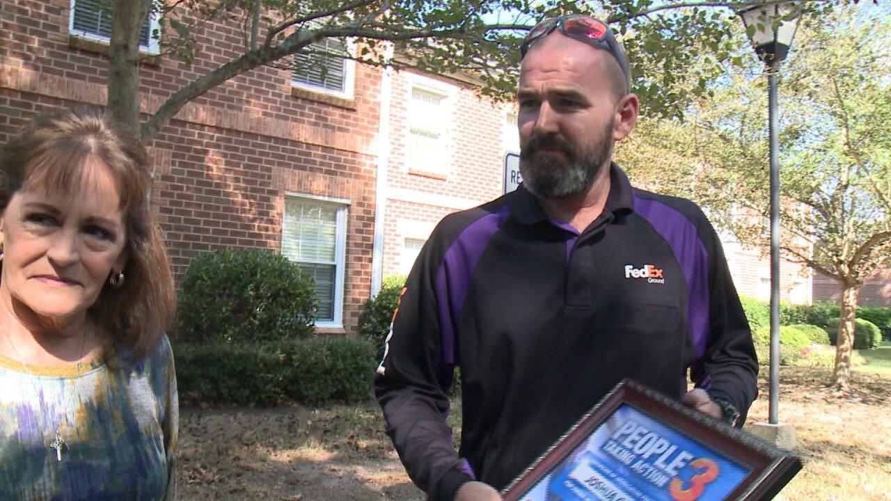 FedEx driver saves Virginia Beach woman having asthmaattack