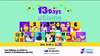 13 Days of Giving kicks offtoday