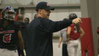 Napier and Cajuns look ahead to MSU