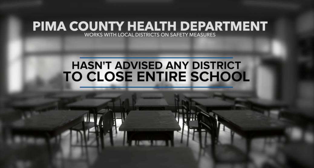 PCHD advises Districts