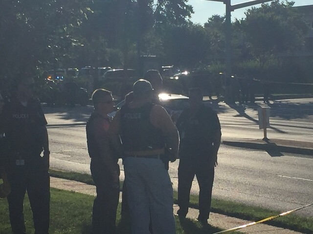 Photos: Gunman opens fire on Maryland newspaper office