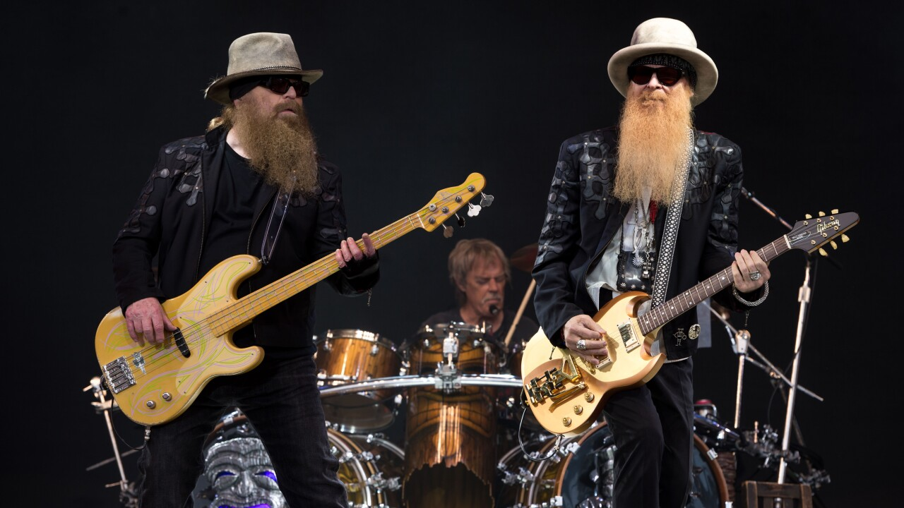 ZZ Top is coming to Corpus Christi on  June 19